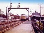 CN diesel locomotives in 1954 color scheme