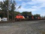 CN Coal Train Departs Gary