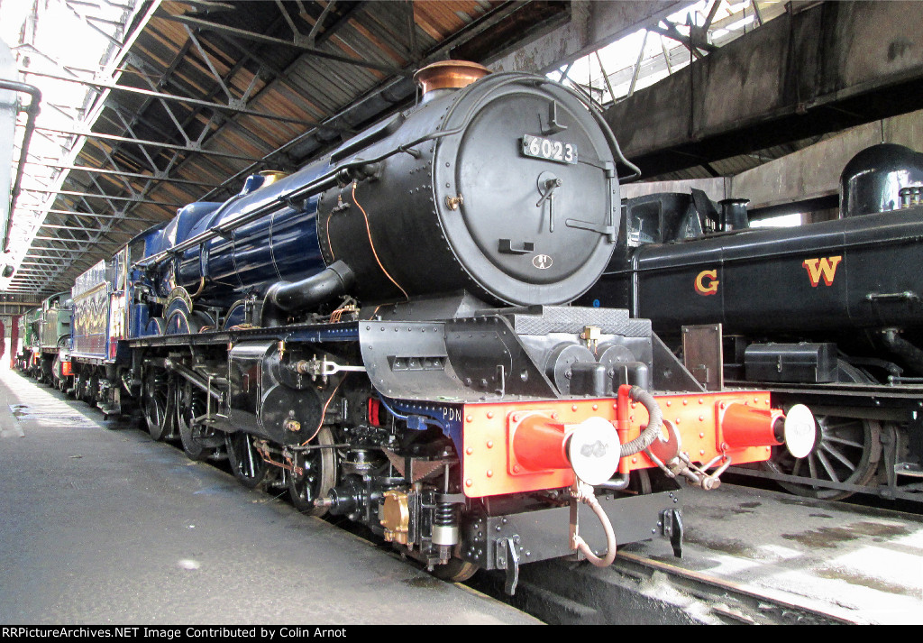 GWR 6023 at Didcot Railway Centre