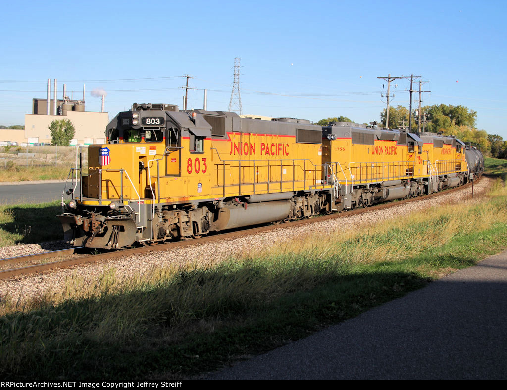 UP 803