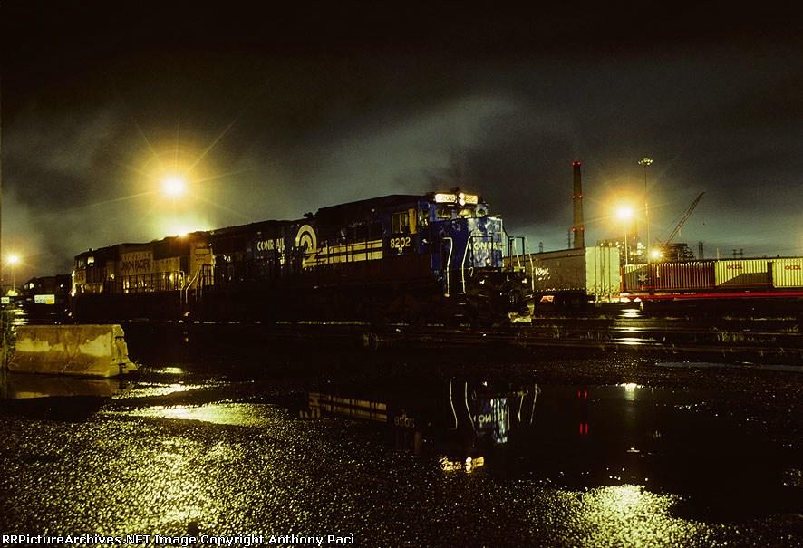 PRR 8202 in the rain