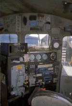 Inside a former Conrail C39-8