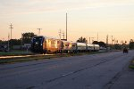 At about 6:20am, IDTX 4610 heads west along Chicago Dr with P371