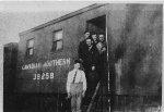 Canadian Northern Railway crew