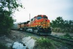 BNSF 4366 and 5370