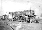 Canadian Pacific steam locomotive