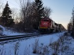 CN 5413, CN 5450 Waterford, MI New Years Day 2020