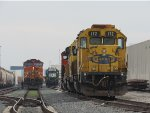 Three different railroad faces of...
