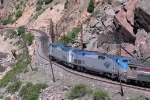 AMT #5 snaking through Byers Canyon