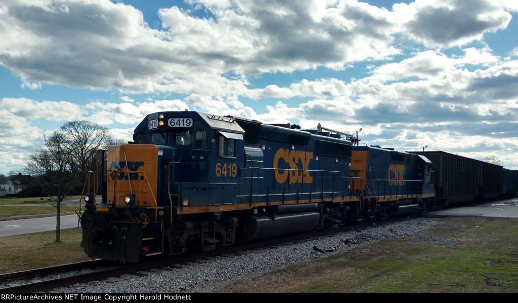CSX 6419 & 2235 power train F711