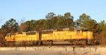 UP 1985 & 1950 lead CSX train F711 northbound