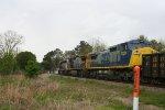 CSX 7339 heads northbound