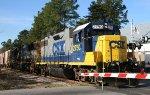 CSX 2750 leads train F711-24 northbound
