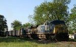 CSX 319 & 768 lead empty coal train U361-19 northbound