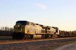 CSX 256 leads train W089 nortbound