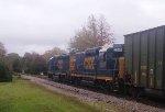 CSX 6471 & 2259 lead train F711 northbound