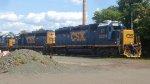 CSX 6204 & 6245