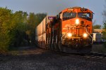 BNSF 5791 Early morning Z train.