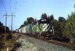 BN 2087 on former Oregon Electric