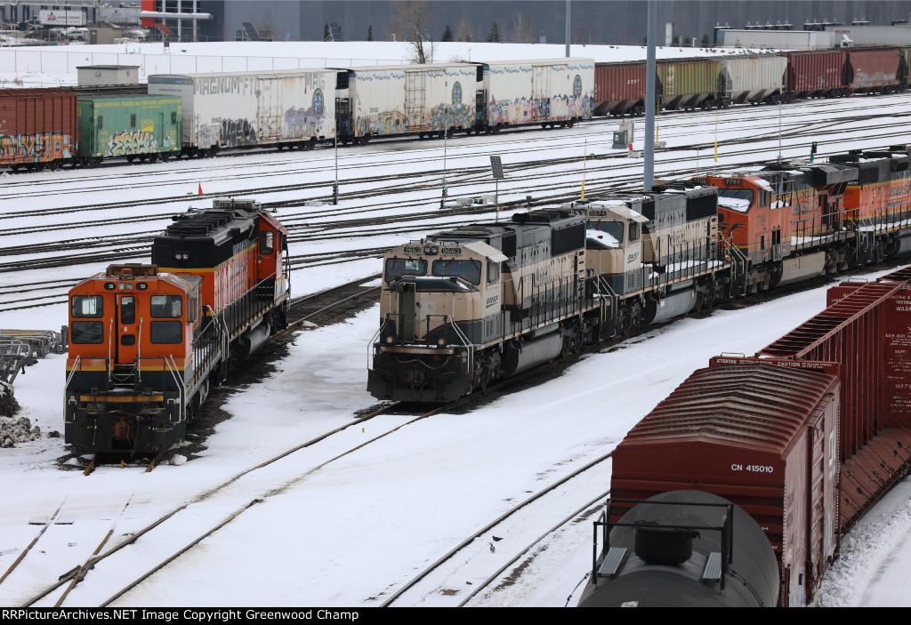 BNSF 58, BNSF 1877, BNSF 9663, BNSF 9674, BNSF 7789