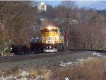 NS 1800 Leading an Oil train
