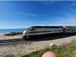 Metrolink MPI MP36PH-3C Number 899 Speeds Thru San Clemente