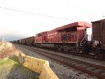 CP Coal train (empty) with mid-train DPU