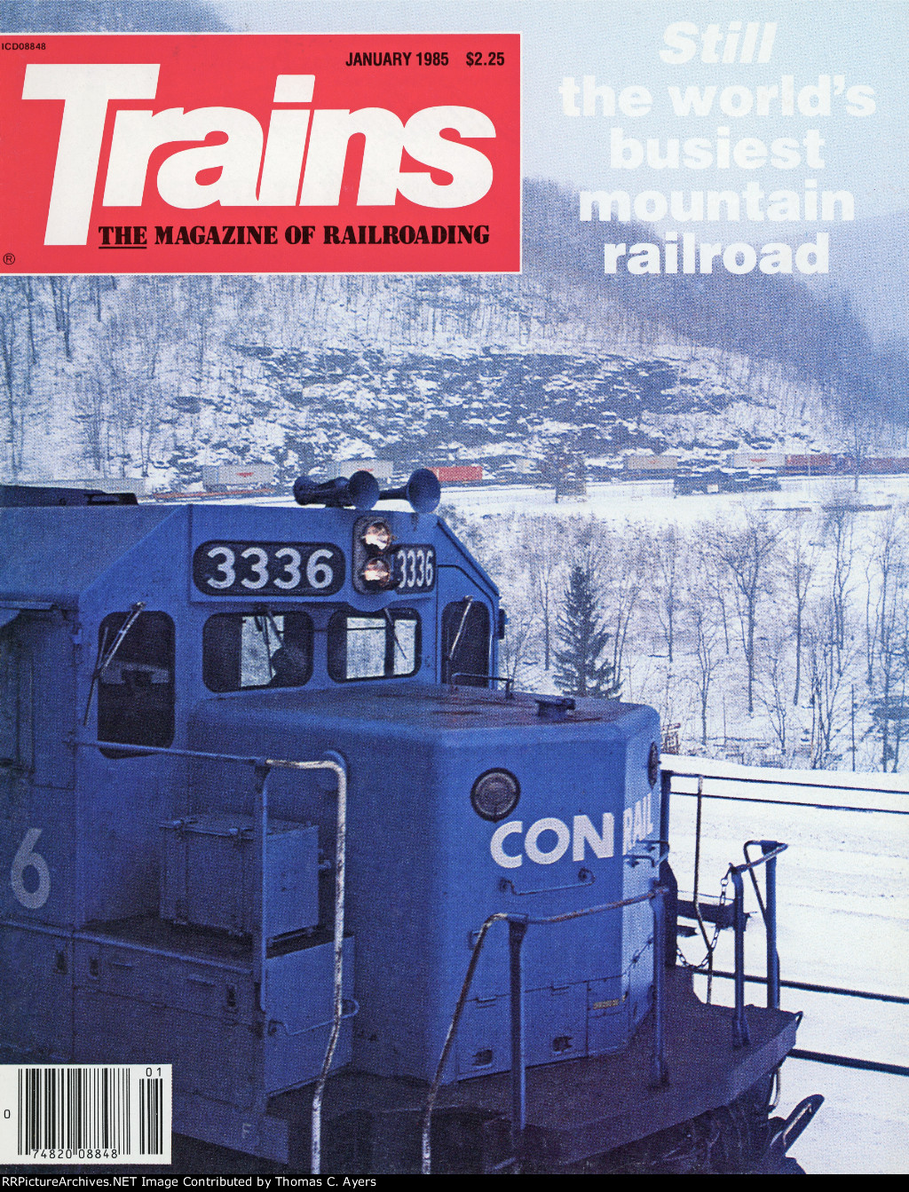"""""""Mountain Railroad Revisited,"""" Front Cover, 1985"""