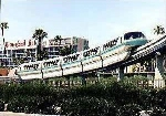 Disneyland Monorail Blue