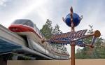 Disneyland Monorail Red