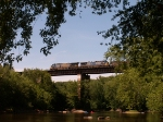 Westbound empty coal train,