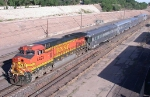 BNSF 4423 with the SB OCS cars