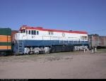 DOT 001 at the Pueblo railroad museum