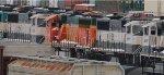 BNSF 9536, BNSF 8841, BNSF 9547
