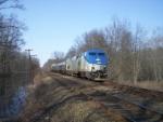 Amtrak shuttle train