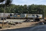 CSX GP38-2 2756 and GP40-2 6137 lay over