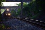 238 cruising under the concrete bridges