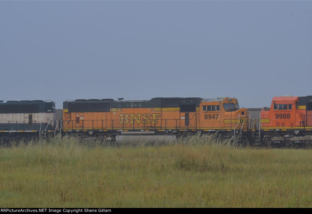 BNSF 8947 Roster shot.
