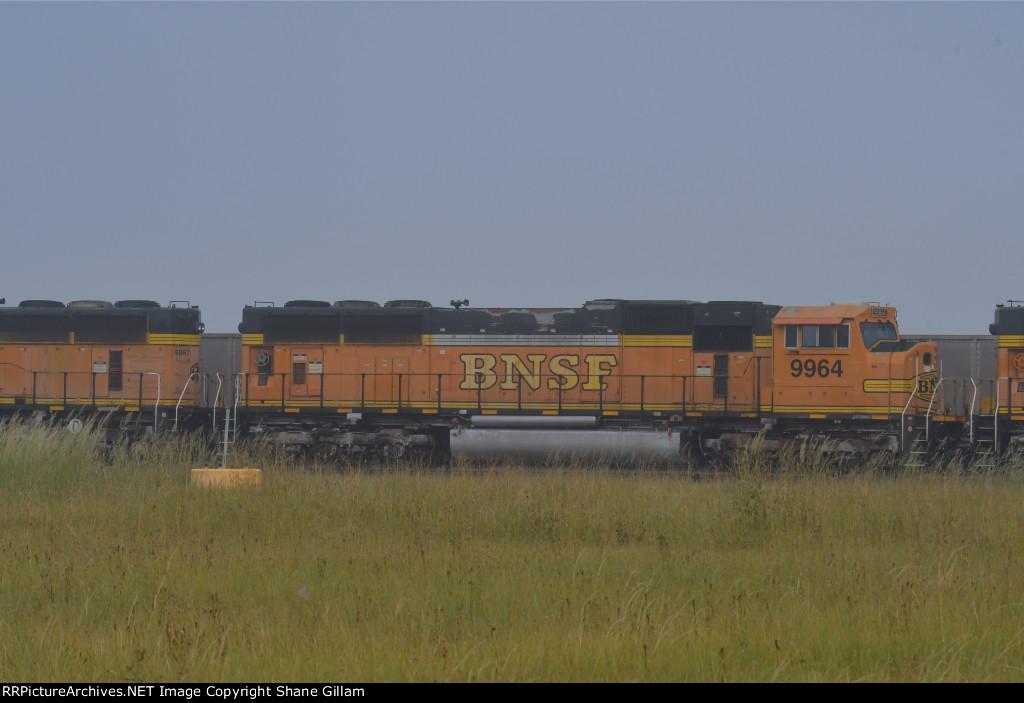BNSF 9964 Roster shot.