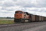 BNSF 9263 Dpu on a loaded coal drag.