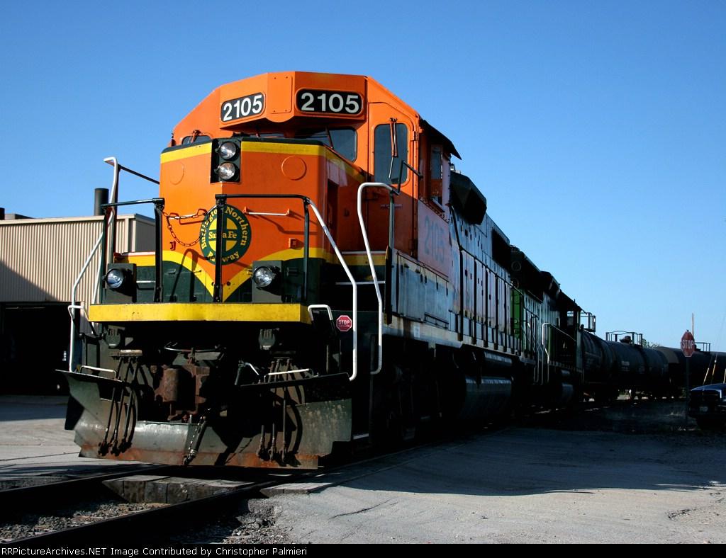 BNSF 2105