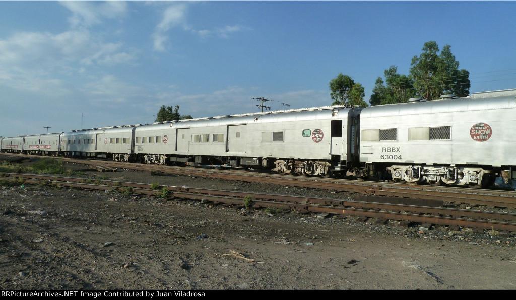 ringling bros train in mexico