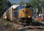 CSX 4582 rolls past CP 55