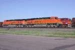New and former paintscheme of BNSF