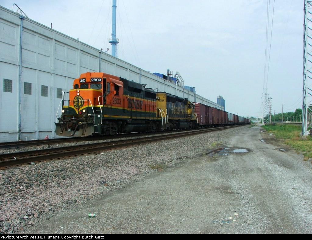 BNSF 2803-Santa Fe 6708