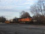 BNSF 5116 & CSX 437