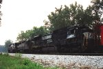 Damaged NS D8-39C #8614 Norfolk Southern