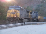 CSX 43 coming out of historic west point tunnel