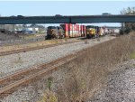 Stacks and mixed freight