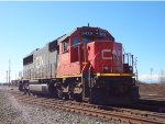 CN 5415, Yard switcher, Roberts Bank